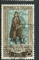 Italy (Trieste) 1953 25 L Luca Signorelli Issue #186 - 7. Trieste