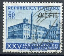 Italy (Trieste) 1953 60 L Lateran Palace Issue #195 - 7. Trieste