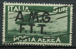 Italy (Trieste) 1945 5 L Air Mail Issue #C3 - 7. Trieste