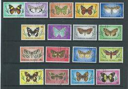 Norfolk Island 1976 Butterfly Definitive Set 17 FU - Norfolk Island