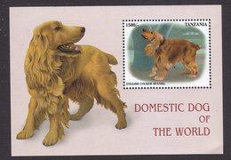 Tanzania, Scott #1829, Mint Never Hinged, Dogs, Issued 1999 - Tanzania (1964-...)
