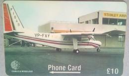 275CKB 10 Pounds Air Service - Falkland Islands