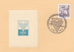 Austria Card Mauthausen 1970 25 Years Of Liberation Of The KZ Camp (DD16-35) - Militaria