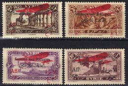 Syrie Poste Aérienne N° 34 - 37 * - Syrien (1919-1945)