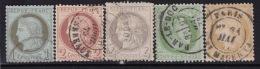 Divers Annuler Lot Sur Ceres Perforé #19 - Marcophily (detached Stamps)