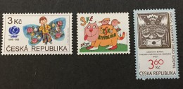 Czech Republic  - MH* - 1996 - # 2991 2988 2978 - Unused Stamps
