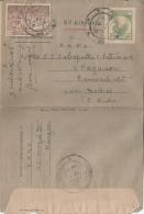 Myanmar  Burma  1957  Uprated Aerogram To India  #  95631   D  Inde Indien - Myanmar (Burma 1948-...)