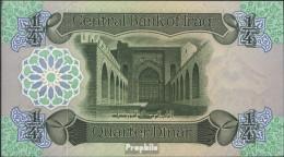 Irak Pick-Nr: 67a Bankfrisch 1979 1/4 Dinos - Iraq