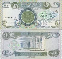 Irak Pick-Nr: 69a (1984) Bankfrisch 1979 1 Dinar - Irak