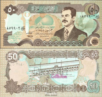 Irak Pick-Nr: 83 Bankfrisch 1994 50 Dinars - Irak