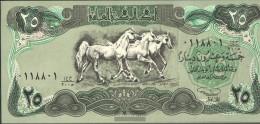 Iraq Pick-number: 74 Uncirculated 1990 25 Dinars - Irak