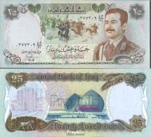 Irak Pick-Nr: 73a Bankfrisch 1986 25 Dinars - Irak