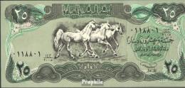 Irak Pick-Nr: 74 Bankfrisch 1990 25 Dinars - Irak