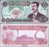 Iraq Pick-number: 81 Uncirculated 1992 10 Dinars - Iraq
