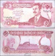 Irak Pick-Nr: 80c Bankfrisch 1992 5 Dinars - Iraq