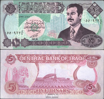 Irak Pick-Nr: 81 Bankfrisch 1992 10 Dinars - Irak