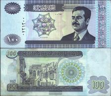 Iraq Pick-number: 87 Uncirculated 2002 100 Dinars - Iraq
