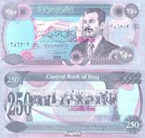 Irak Pick-Nr: 85a1 Bankfrisch 1995 250 Dinars - Iraq