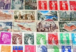 France 200 Different Stamps - Collections