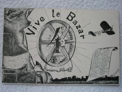 ECOLE NATIONALE DES ARTS ET MÉTIERS DESSIN HUMORISTIQUE LES GADZ'ARTS VIVE LE BAZAR PROMO 08-12 Signée Perrier ? - Illustrators & Photographers