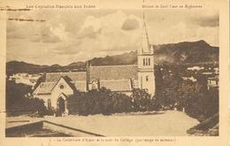 Cathédrale Ajmer, Cour Du Collège, Capucins Français Aux Indes, Mission Du Sacré-Coeur Au Rajpoutana, Carte Non Circulée - Missions