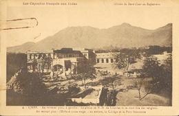 Ajmer, Grotte N-D De Lourdes, Capucins Français Aux Indes, Mission Du Sacré-Coeur Au Rajpoutana, Carte Non Circulée - Missions