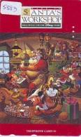 Télécarte Japon / 110-149293 - DISNEY STORE - PERE NOEL (5883) SANTA CHRISTMAS Japan Phonecard / 3000 EX - Disney