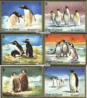 Umm Al Kaiwain 630A-635A (kompl.Ausgabe) Postfrisch 1972 Antarktis - Umm Al-Qiwain