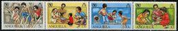 AL0595 Anguilla 1981 Children's Life 4V MNH - Anguilla (1968-...)