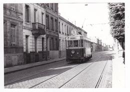 33 Bordeaux PHOTO Tram Tramway N°9 Marqué Saint Jean Place Du Cardinal Donnet Le 13 Mai 1956 VOIR DOS - Lieux