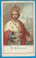 Holycard   St. Ferdinand   Turgis & Fils   53 - Imágenes Religiosas