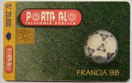 Francia 98  S/20,000 - Peru