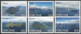 FÄRÖER 1999 Mi-Nr. 356/61 ** MNH - Färöer Inseln