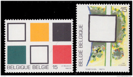 Belgium 2452/53**  Artistique  MNH - Belgique