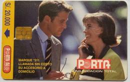 Man And Woman Talking S/20,000 - Ecuador