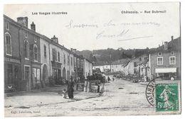 CHATENOIS - Rue Dubreuil (commerces, Mercerie, Bonneterie, Boucherie MARCHAL) - Chatenois