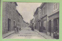LE PEAGE DE ROUSSILLON :  La Grande Rue. TBE. 2 Scans. Edition Augoyard - Other Municipalities