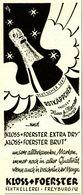 Original-Werbung/ Anzeige 1942 - ROTKÄPPCHEN SEKT / KLOSS & FOERSTER FREYBURG - Ca. 45 X 110 Mm - Werbung