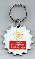 Porte-clefs Cofidis Le Crédit Par Téléphone - Porte-clefs