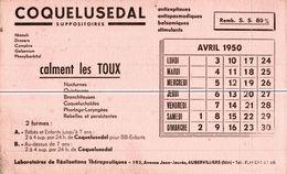 BUVARDS   COQUELUSEDAL - Buvards, Protège-cahiers Illustrés