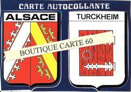 68-TURCKHEIM- ALSACE- BLASON- ECUSSON - HERALDIQUE - Turckheim