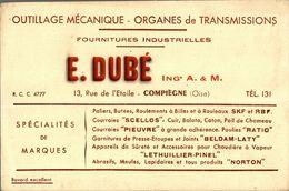 BUVARDS   COQUELUSEDAOUTILLAGE MECANIQUE  FOURNITURES INDUSTRIELLES  E DUBE - Buvards, Protège-cahiers Illustrés