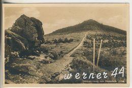 Riesengebirge V.1935  Der Iserkammweg Zum Hochstein  (12749) - Schlesien