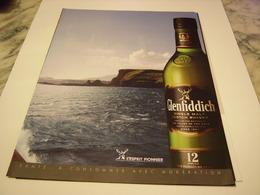 PUBLICITE AFFICHE  WHISKY GLENFIDDICH  2011 - Alcohols