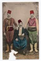 (Grèce) 229, Crète, Editeur Cavaliero, Costume Turc Crétois, Dos Non Divisé, Mauvais état - Grecia