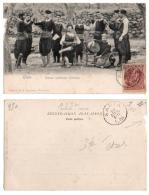 (Grèce) 230, Crète, Editeur Cavaliero, Danse Nationale Crétoise, Dos Non Divisé, état - Grecia