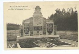 Mémorial De L'armée Secrète Aux Maquisards Tombés Au Camp De Burnontige Ferrières - Ferrières