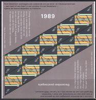 Christmas Block 1989 MNH (ven6-9-4) - Blokken