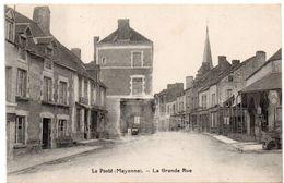 Mayenne - LA POOTE ( Saint-Pierre-des-Nids ) -  La Grande Rue - Hôtel - Coopérative - Garage Citroën -1931 - France