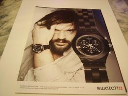 PUBLICITE AFFICHE MONTRE SWATCH  2011 - Jewels & Clocks